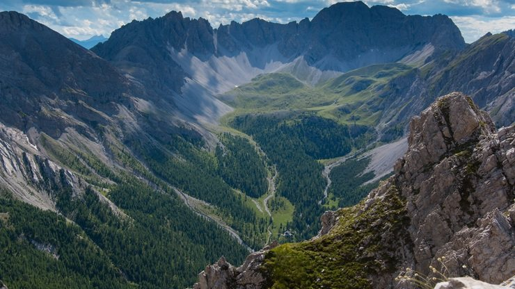 Panorama Highlights der Dolomiten