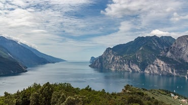 Hiking around Lake Garda