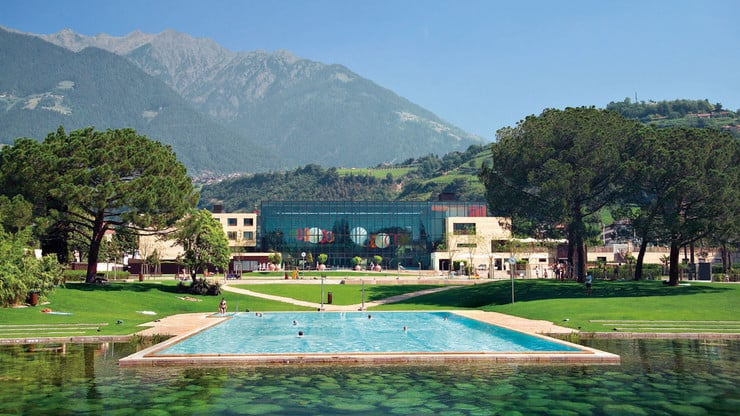 Wellness in den Termen von Meran