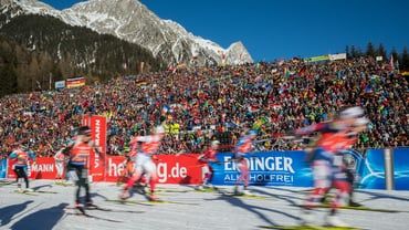 Biathlonfest in Antholz
