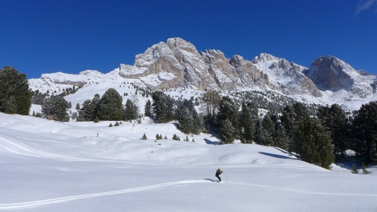 Skiing the Dolomites - 3 days
