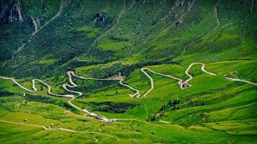 Motorbiking around the Dolomites