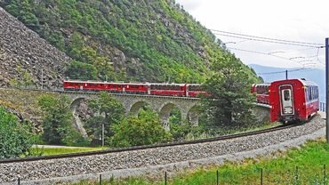 Bernina Express... between Heaven and Earth